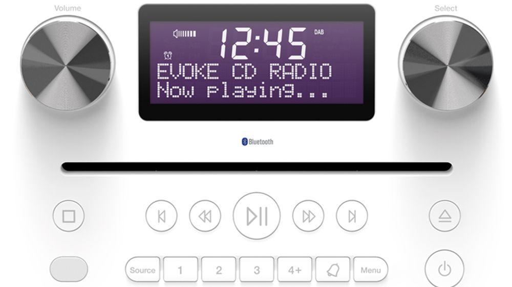 Radio  stéréo numérique et FM avec lecteur CD et fonction Bluetooth® A2DP - PURE Evoke C-D6