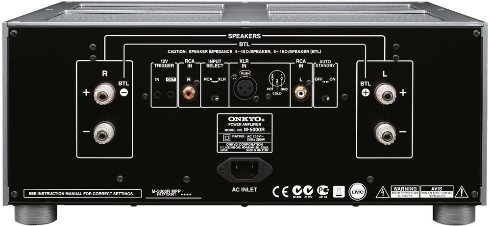 Onkyo M-5000R + P-3000R
