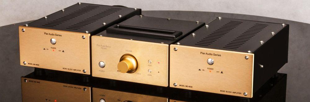 ampli de puissance mono pier audio ms 80se noir. Black Bedroom Furniture Sets. Home Design Ideas