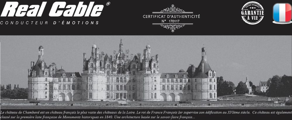 Real Cable Chambord II SP