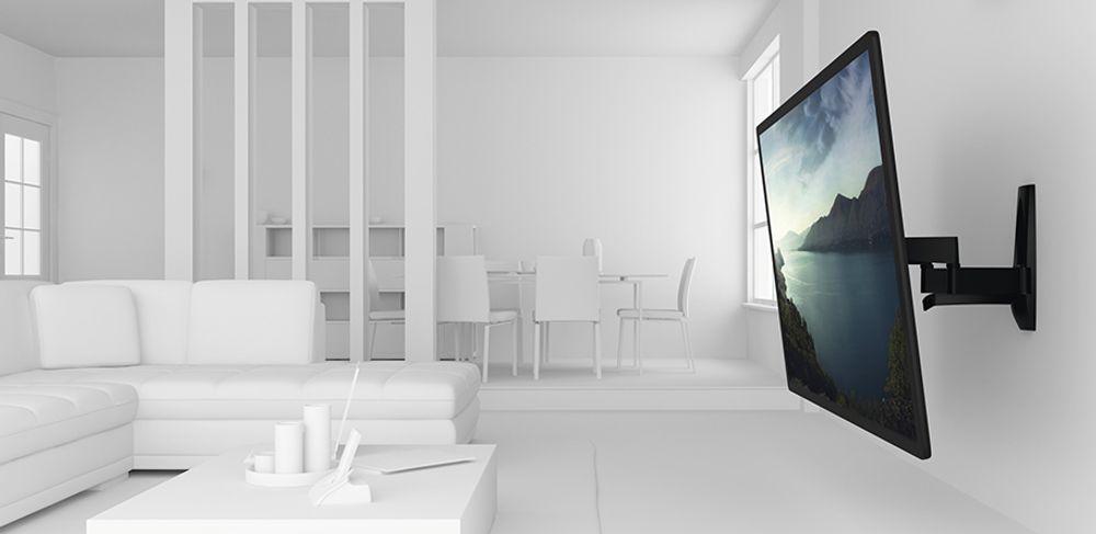 vogel 39 s wall 2450 noir accessoires. Black Bedroom Furniture Sets. Home Design Ideas