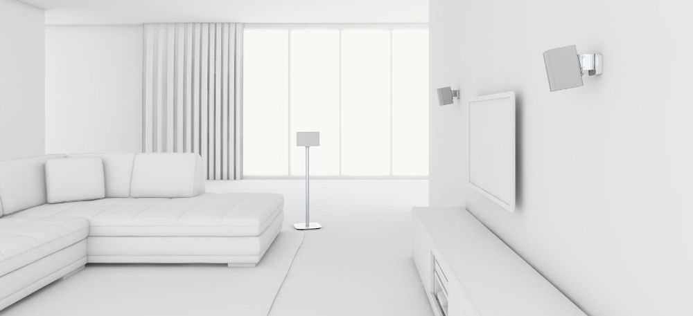 Vogel's Sound 3200 Blanc Salon