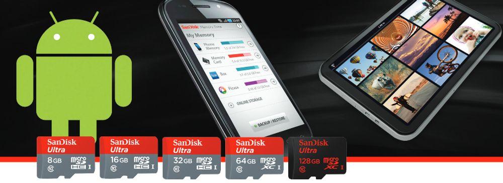 SANDISK MicroSDXC Ultra 64Go