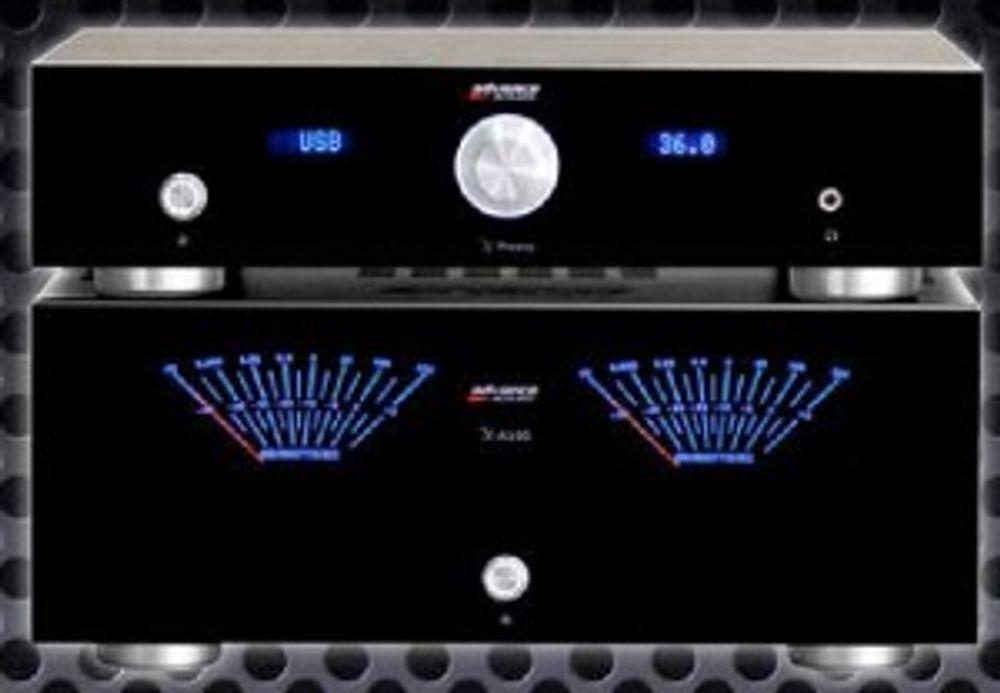 Advance X-Preamp + X-A160 : nouveau design !