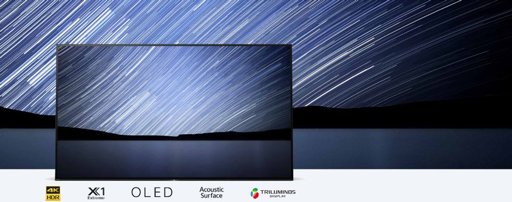 TV OLED 4K Sony KD-65A1