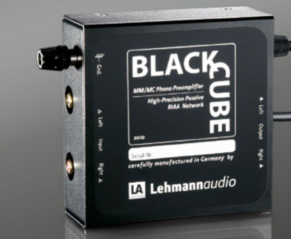 Préampli phono MM/MC Lehmann Audio Black Cube