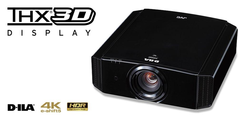 Vidéoprojecteur HDR Ultra HD 4K à technologie e-shift5 compatible 3D - JVC DLA-X9900