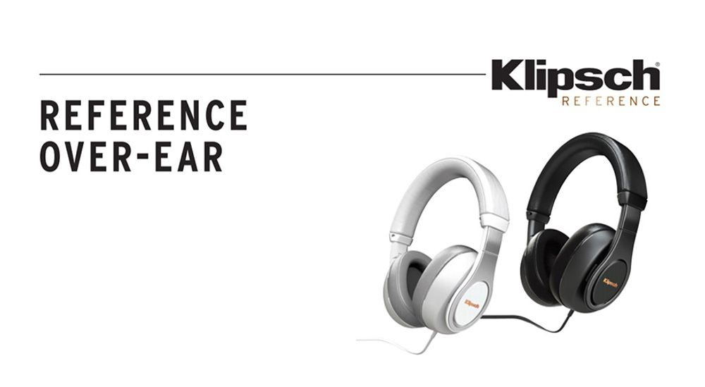Casque audio circum-auriculaire avec fonction mains libres et certification Apple - KLIPSCH Reference Over Ear