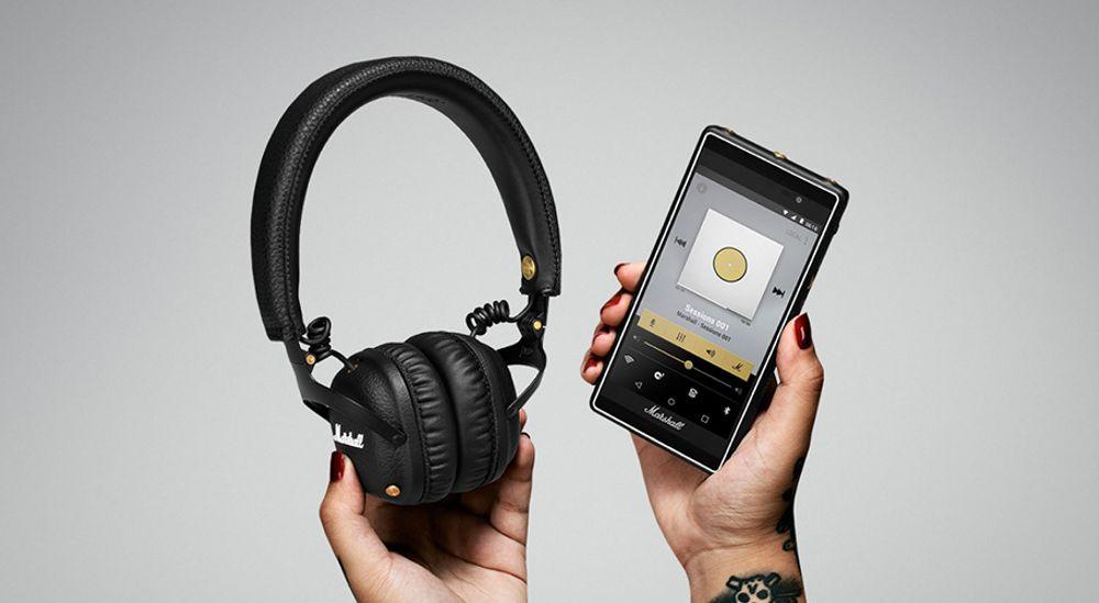 Casque audio supra-aural Bluetooth® aptX avec autonomie de 30 h - MARSHALL MID Bluetooth®