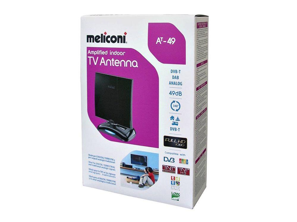 Meliconi at49 lte accessoires et antennes tnt for Antenne tnt interieur performante