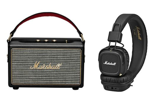 MARSHALL Kilburn Noir + Major 2 Noir Bluetooth