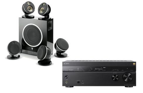 SONY STR-DN1080 + FOCAL DOME FLAX 5.1 Noir