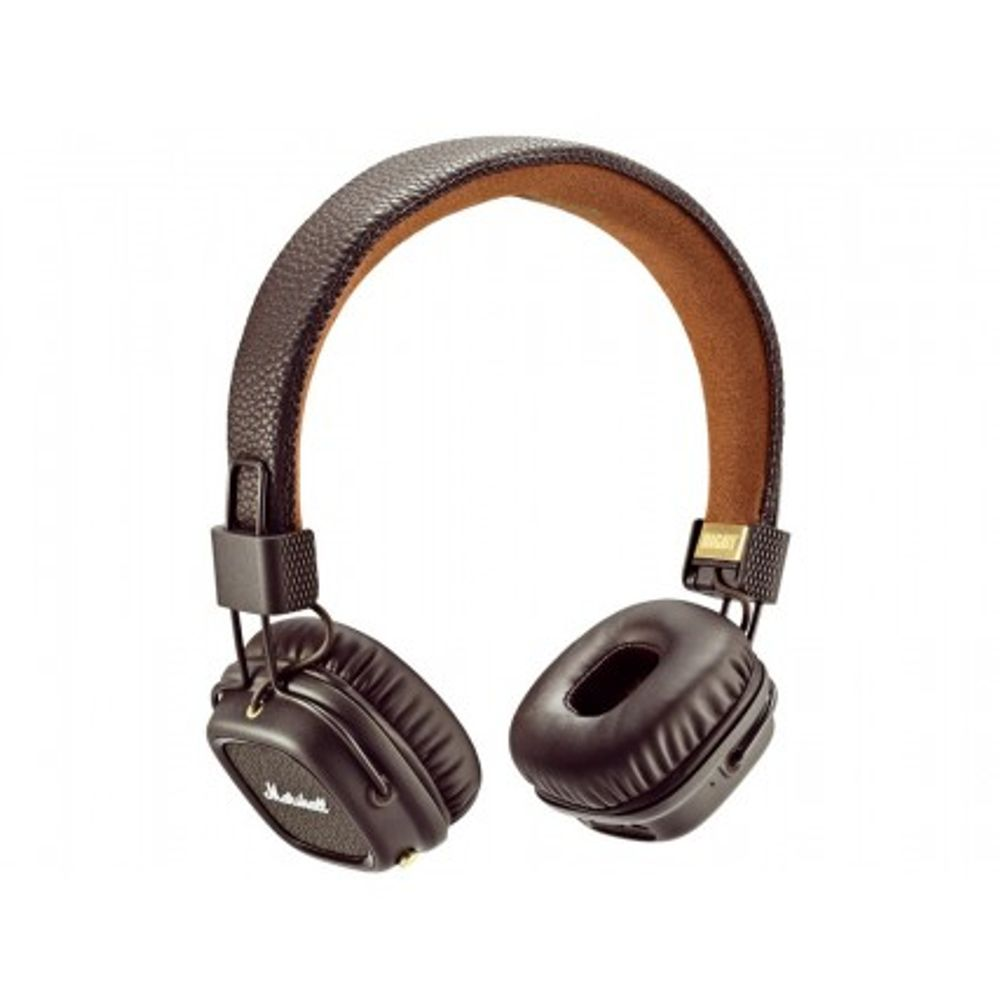 marshall major ii brown bluetooth casques sans fil. Black Bedroom Furniture Sets. Home Design Ideas