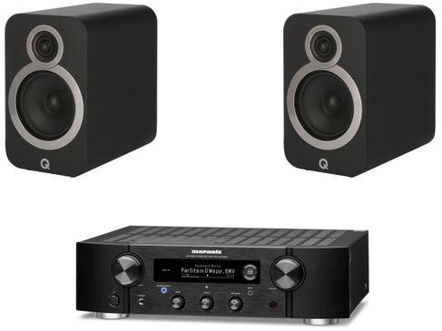 Marantz PM7000N Noir + Q Acoustics 3020i Noir
