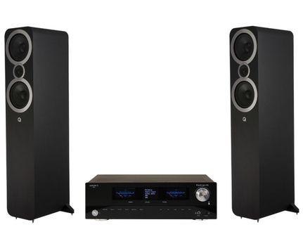 Advance Paris PlayStream A5 + Q Acoustics 3050i Noir