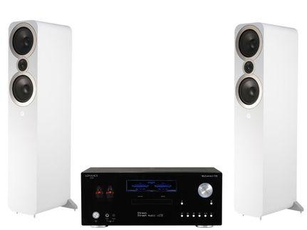 Advance Paris MyConnect 150 + Q Acoustics 3050i Blanc