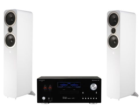 Advance Paris MyConnect 150 + Q Acoustics 3050i Blanc