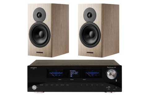 Advance Paris PlayStream A5 + DYNAUDIO EVOKE 20 Blond Wood