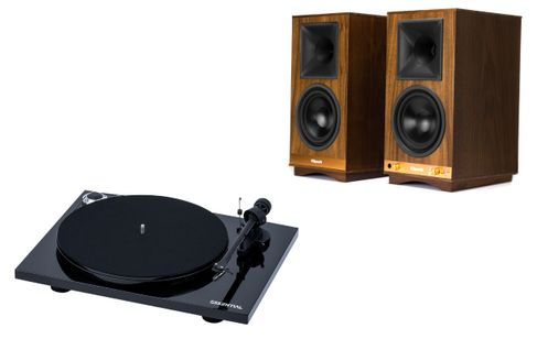 KLIPSCH SIXES NOYER + PROJECT ESSENTIAL 3 PHONO PIANO BLACK (OM10)