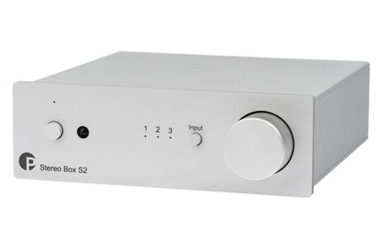 PROJECT Stéréo Box S2 Silver