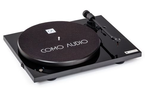 COMO AUDIO PLATINE VINYLE Noir Piano