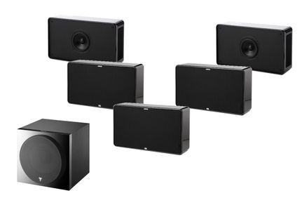 FOCAL Pack 5.1 JAMO D500 Noir THX Select 2 + FOCAL SUB 1000 F
