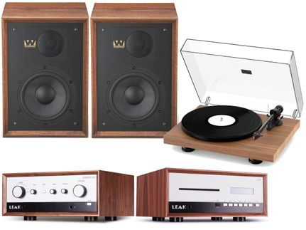 Leak Stereo 130 + CDT + ProJect Debut Carbon Evo + Wharfedale Denton 85 Walnut