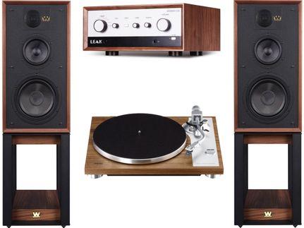 Leak Stereo 130 + Teac TN-4D + Wharfedale Linton Heritage Walnut