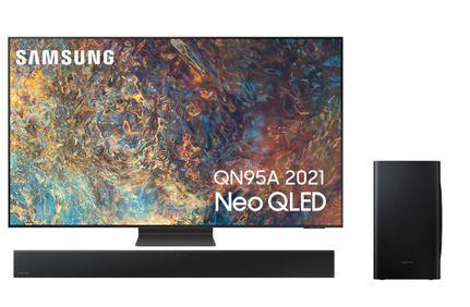 SAMSUNG QE75QN95A 2021 + SAMSUNG HW-T420