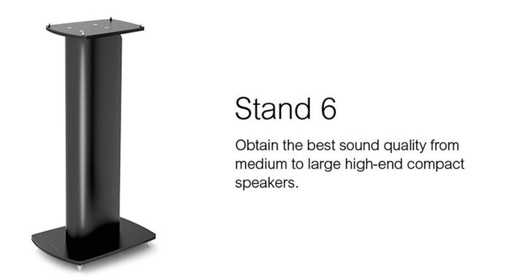 Support colonne pour enceintes Bibliothèque de 640 mm de haut - DYNAUDIO STAND 6