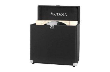 VICTROLA Valise à Vinyles Noir