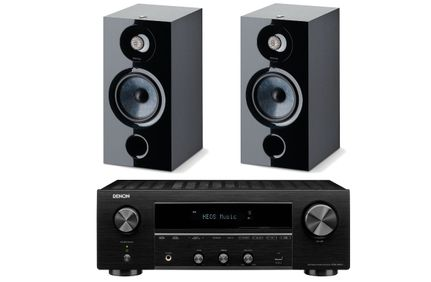 DENON DRA-800H Noir + FOCAL CHORA 806 Black