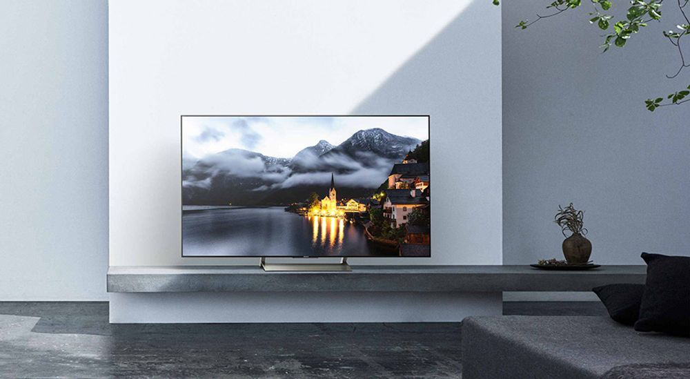 TV Ultra HD 4K avec technologie X-tended Dynamic Range PRO,   TRILUMINOS - SONY KD-55XE9005