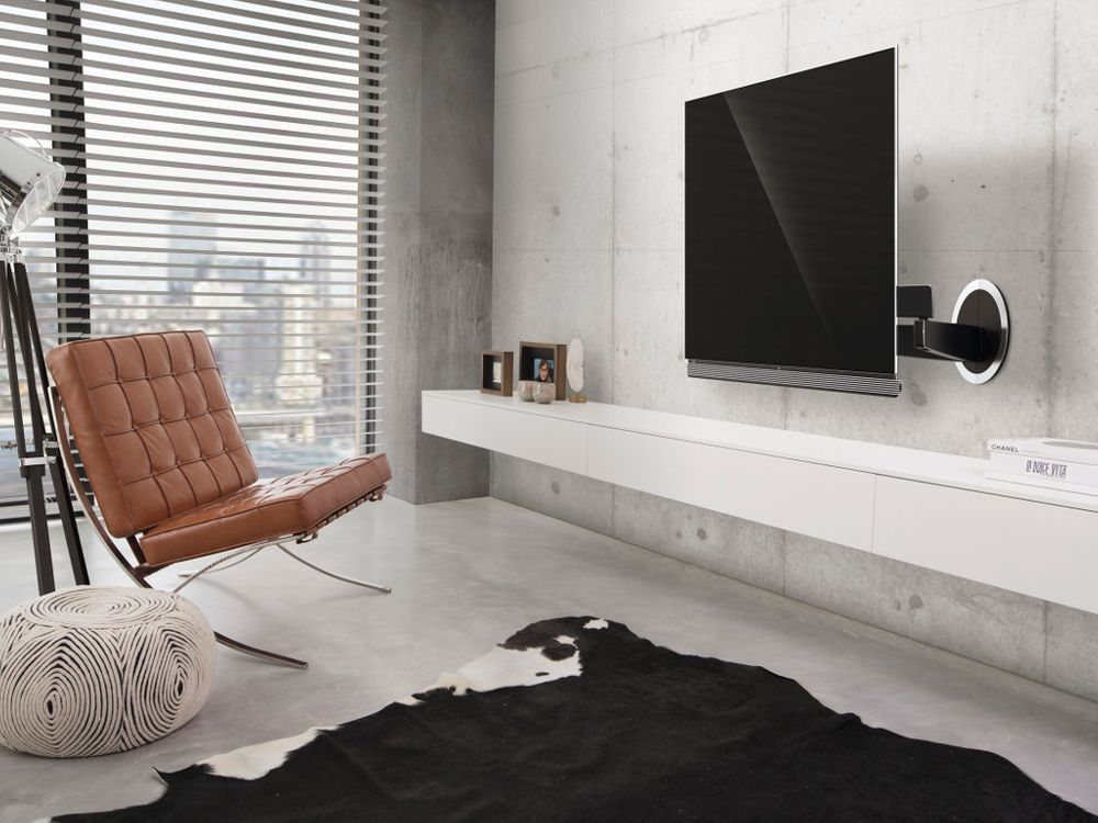 perfect support mural vogelus next lg oled g e with quel support mural tv. Black Bedroom Furniture Sets. Home Design Ideas