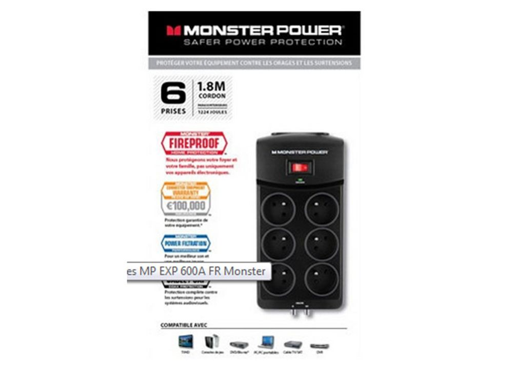 Monster MP EXP 600A