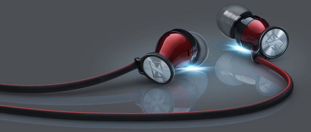 Sennheiser Momentum In-Ear G Black/Chrome (Android)
