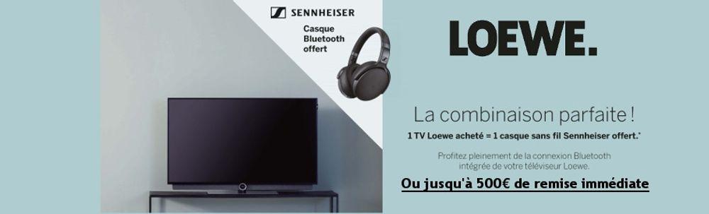 Offre TV Loewe : un casque audio offert ou une remise immédiate allant jusqu'à 500€